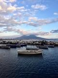 Napoli, il golfo ed il Vesuvio
