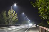 road bridge at night - 132026785