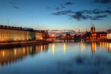 Wrocław wieczorny widok na Ostrów Tumski - 132027730
