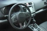 Modern car internior