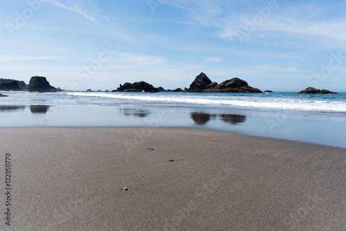 Strand an der Westküste der USA Poster