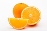Сладкий апельсин. Апельсин в разрезе