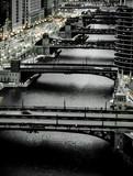 City River Bridges at Dusk