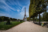 Fototapeta Paris - Eiffel Tower Paryż wieża © surfmedia