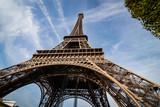 Fototapeta Eiffel Tower - Eiffel Tower Paryż wieża © surfmedia