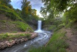 Waterfall in Minnehaha Park, Minneapolis, Minnesota