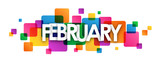 FEBRUARY month icon