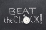 beat the clock watch
