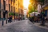 Stare ulicy w Madrycie. Hiszpania