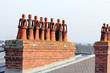 Chapeau de cheminée anthropomorphe