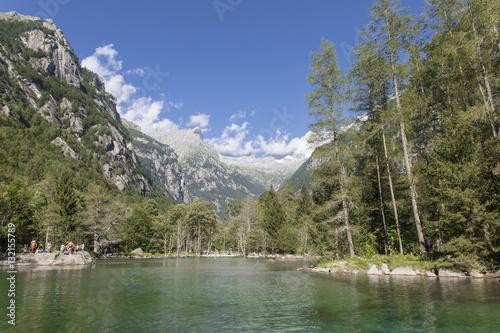 """Beautiful landscape of """"Val di Mello"""" (Valtellina) Poster"""
