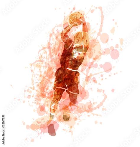 barwiona-wektorowa-sylwetka-gracz-koszykowki-ilustracji-wektorowych