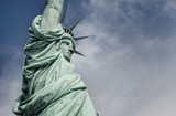 Closeup of the Statue of Liberty - 132169158