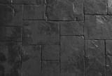 Horizontal Texture of The Gray Rock or Stone Floor