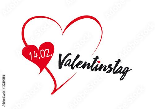 Großartig Valentinstag   Herz   Datum