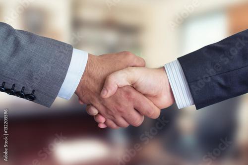 Foto Murales Business People Shaking Hands