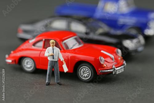 車の販売 Poster