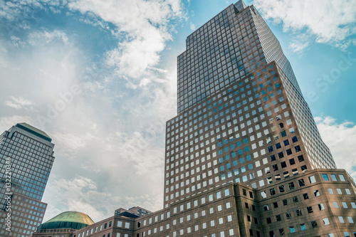 Abstract elements of New York buildings. Canvas Print
