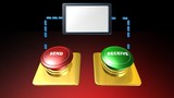 red and green button,animation,message