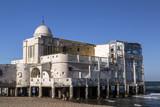 La Marsa district of Tunis city, the capital of Tunisia. La Marsa is a popular touristic coastal area in the city center.