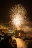 fieworks in Camogli