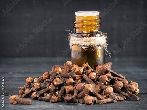 Spice clove essential oil Poster