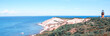 Beautiful landscape of Marthas Vineyard Island, Massachusetts