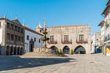 Famous Town Hall at the Praca da Republica in Viana do Castelo