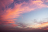 Dramatic color of Sky and twilight cloud background. - 132283569