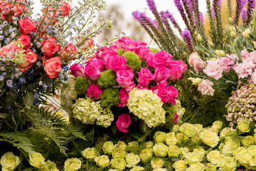 Beautiful flower arrangement.