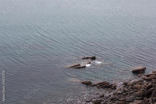 Poster Sea and Rocks