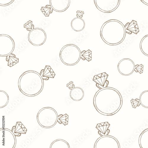 Materiał do szycia Pattern from the diamond ring.