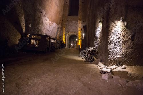 Fotobehang Napels Napoli sotterranea