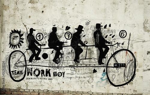 Велосипедисты © moypapaboris