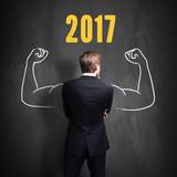 Unternehmer freut sich auf 2017
