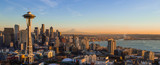 Seattle Skyline at S...