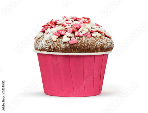 Poster valentines day muffin