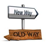 Choosing the Best Way, Personal Development Concept