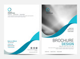 Brochure template flyer background for business design - 132402585