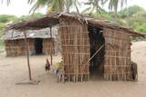 Capanne di paglia in Kenya
