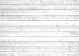 Fototapety Helle Bretterwand grau weiß