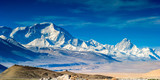 Mount Everest, view from Laodingri, Tibet, China