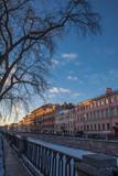 channel in Saint Petersburg