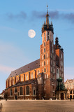 St. Mary's Gothic Church in Krakow