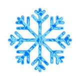 płatek śniegu ikona - 132454942