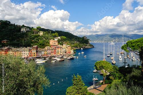 Fotobehang Liguria Portofino, famoso paese della Liguria, Italia