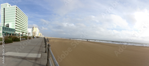 Virginia Beach boardwalk landscape  Horizontal  | Buy Photos | AP