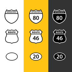 Route Icons
