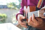 Playing Uklele