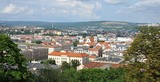 panoramic view of the city of Brno, Czech Republic, Europe